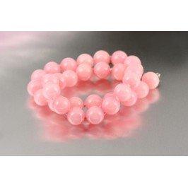 Náhrdelník z korálů - růžový