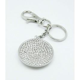 Klíčenka stříbrné kolečko
