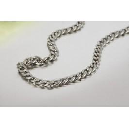 Masivní náhrdelník z chirurgické oceli - proplétaný
