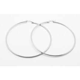 Náušnice kruhy z chirurgické oceli - velké - Bizuterie.com 4dd48d00280